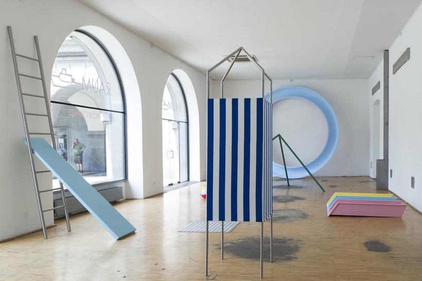 """Förderpreis 2015: Mag. Maria Venzl - """"Super Toboggan"""" (Foto: Maria Venzl)"""